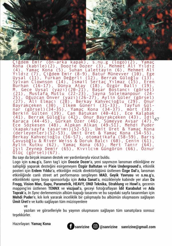 sanri4 nefs künye 1 scaled S A N R I | SANRI Zine #4 Nefs/Benlik