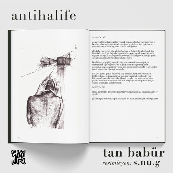 iç post 1 S A N R I | antihalife / tan babür